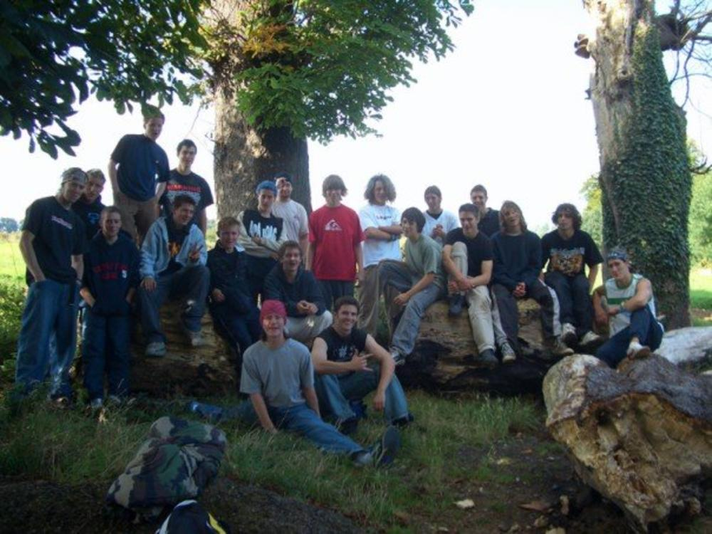 UK Tricking Gathering 2005, group picture